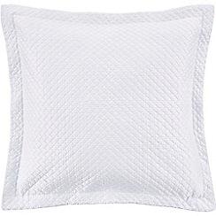 Sheridan - Light blue 'Lancet' square sham pillowcase