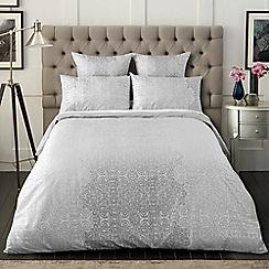 Sheridan - Grey 'Gratten' bedding set