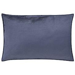 Sheridan - Mid blue 'Garner' pillow case pair
