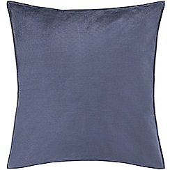Sheridan - Mid blue 250 thread count 'Garner' square pillow case