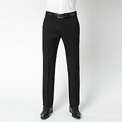 Stvdio by Jeff Banks - Black wool blend luxury suit trousers