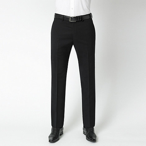 Stvdio by Jeff Banks - Black wool blend luxury suit trousers