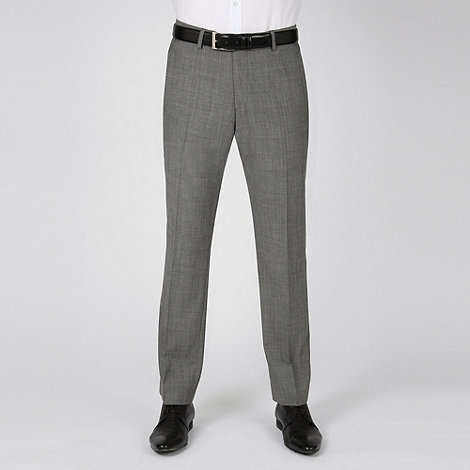 Ben Sherman - Grey mohair kings fit suit trousers