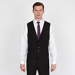 Red Herring - Black fashion suit waistcoat
