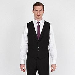 Red Herring - Black fashion suit waistcoat