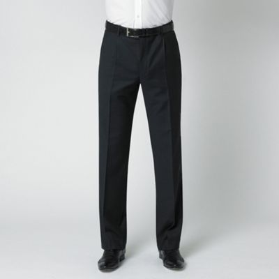 Blue Pick And Pick Washable Suit Trouser