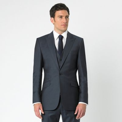 Blue Tonic 1 Button Suit Jacket