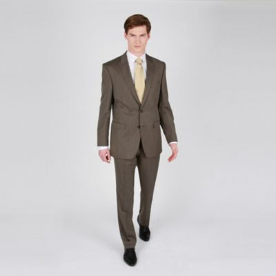 Bronze Pindot Fashion Suit Trouser