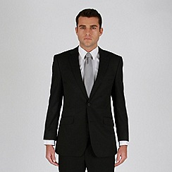 Karl Jackson - Black stripe 2 button suit jacket