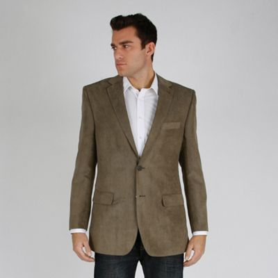Brown Soft Touch 2 Button Formal Jacket