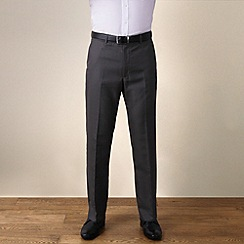Karl Jackson - Grey semi-plain regular fit 2 trouser