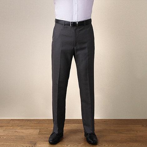 Karl Jackson - Grey semi-plain regular fit 2 trouser