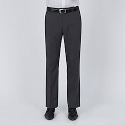 Karl Jackson - Grey semi plain suit trousers