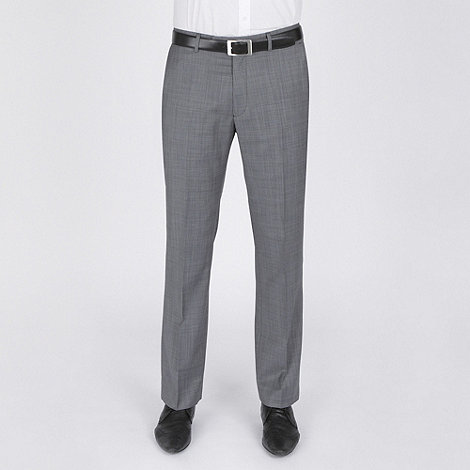 Stvdio by Jeff Banks - Grey nailhead suit trouser