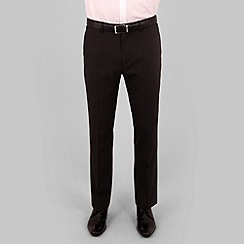 Stvdio by Jeff Banks - Black fine stripe suit trouser