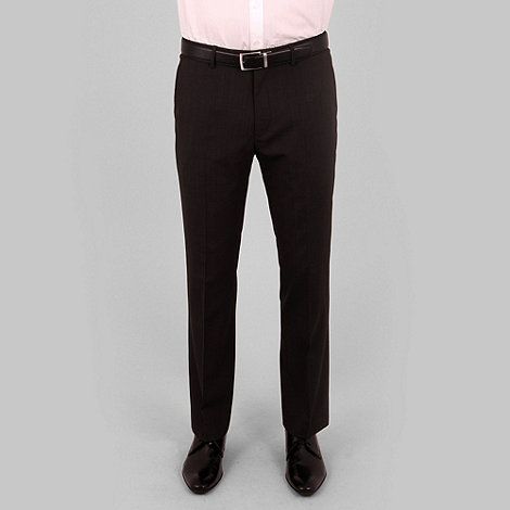 Stvdio by Jeff Banks - Black fine stripe suit trouser