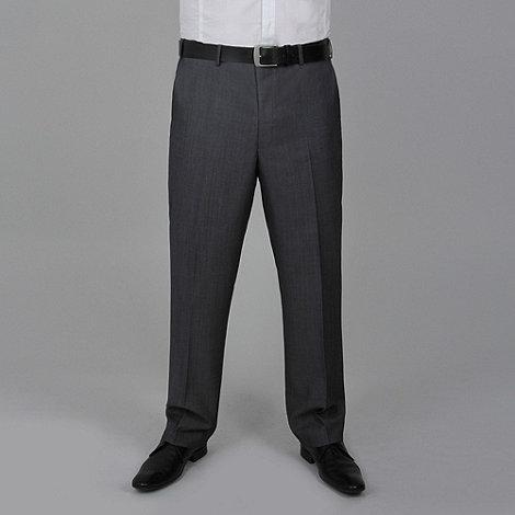 Centaur Big & Tall - Grey tonic washable suit trouser