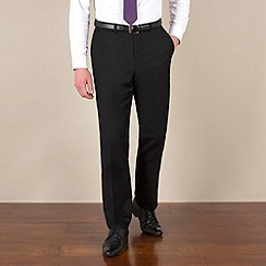 Red Herring - Black twill slim fit trouser