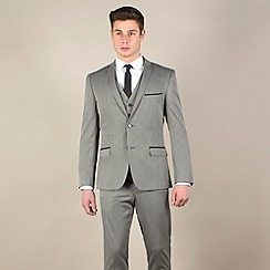 Red Herring - Bronze slim fit 2 button 3 piece suit