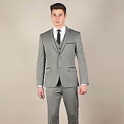 Red Herring - Bronze semi-plain slim fit 2 button jacket