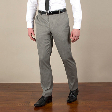 Red Herring - Grey semi-plain slim fit trouser