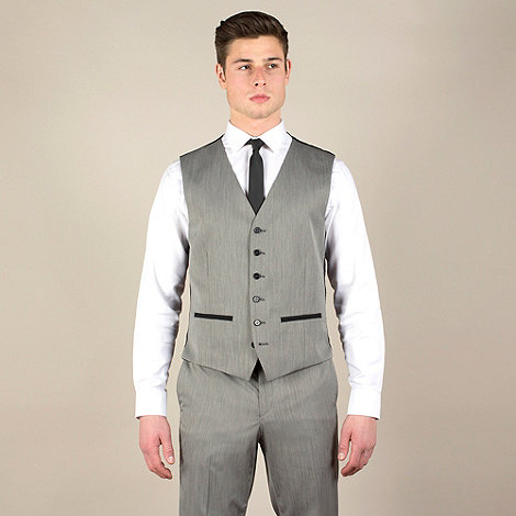 Red Herring - Bronze pindot 6 button suit waistcoat