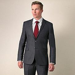 Red Herring - Grey sharkskin 2 button suit