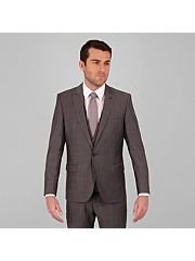 Grey Tonic 1 Button Suit Jacket
