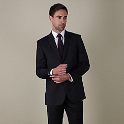 Jeff Banks - Black stripe 2 button suit