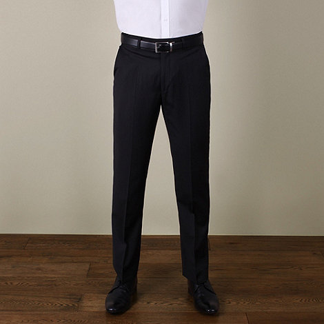 Jeff Banks - Black stripe suit trouser