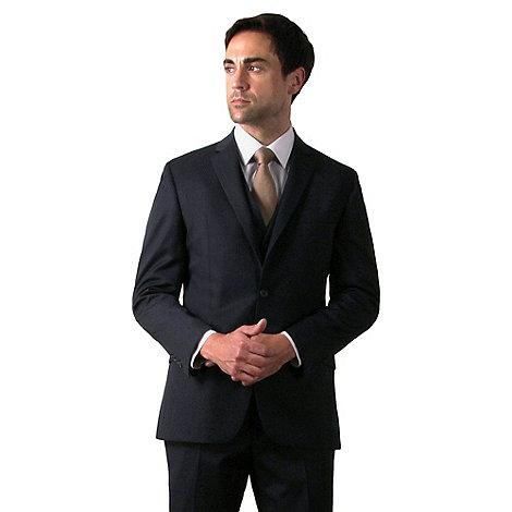 J by Jasper Conran - Navy feint stripe tailored fit 2 button jacket