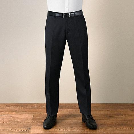 J by Jasper Conran - Navy feint stripe tailored fit trouser