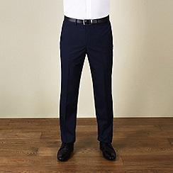 Red Herring - Blue semi-plain slim fit trouser