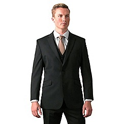Ben Sherman - Black stripe tailored fit 2 button suit