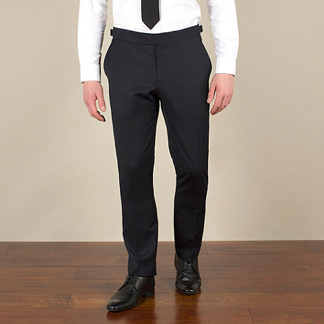 Ben Sherman - Navy twill slim camden fit dresswear trouser