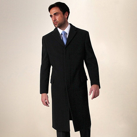 Karl Jackson - Black Lawson Overcoat