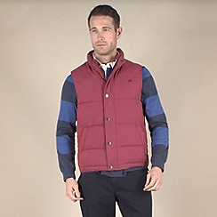 Racing Green - Padded Gilet With Jersey Lining