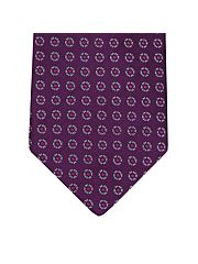 Mulberry Neat Flower Silk Tie