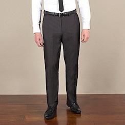Red Herring - Charcoal fine stripe slim fit trouser