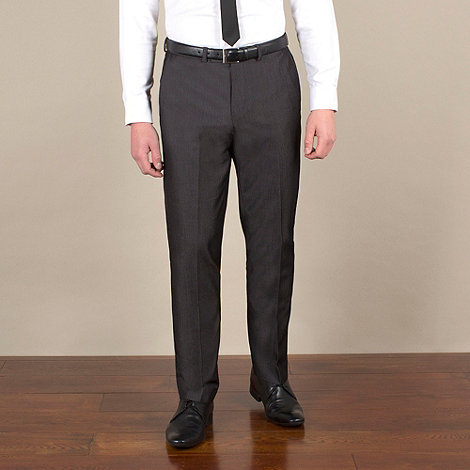 Red Herring - Charcoal fine stripe slim fit trouser