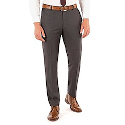Red Herring - Charcoal twill slim fit trouser