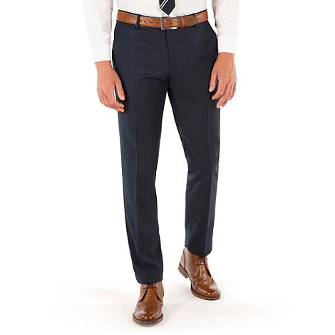 Red Herring - Navy twill slim fit trouser