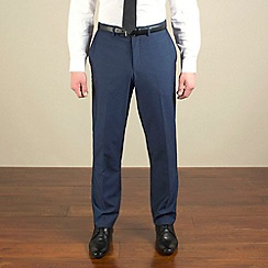 Red Herring - Bright blue semi-plain slim fit trouser