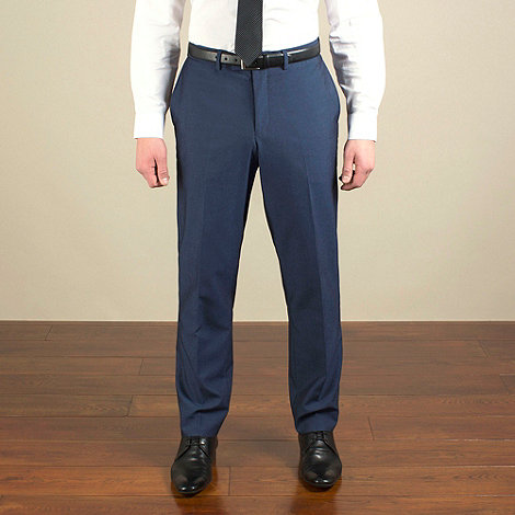 Red Herring - Bright blue semi-plain slim fit trouser