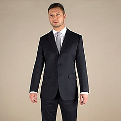Karl Jackson - Navy stripe regular fit 2 button suit
