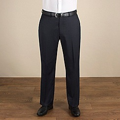 Karl Jackson - Navy stripe regular fit trouser