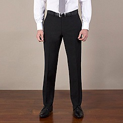BEN SHERMAN - Black pindot suit trouser