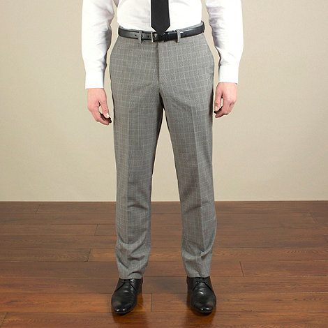 Red Herring - Taupe check slim fit trouser