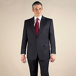 Centaur Big & Tall - Navy twill 2 button washable suit