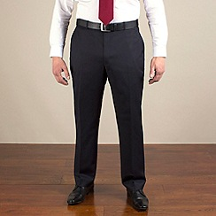 Centaur Big & Tall - Navy twill washable suit trouser